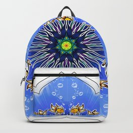 Mandala fishes Backpack