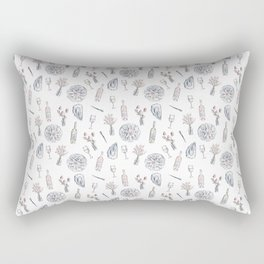 Oysters and Rose Rectangular Pillow