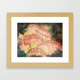 Faerie Lunar New Year Framed Art Print