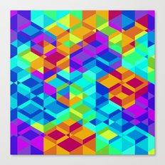 Geometric colour Canvas Print
