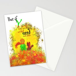 The Little Prince | Quotes | But if you tame me, then we shall need each other. Part 1 of 3 | #B2 Stationery Cards