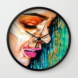 Sad Beauty Wall Clock