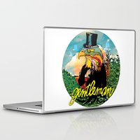 gentleman Laptop & iPad Skins featuring Gentleman by dogooder