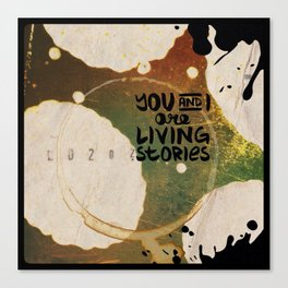 Your Cells are Living Libraries Canvas Print