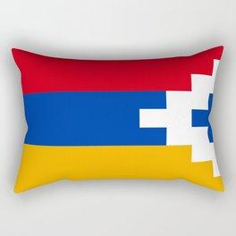 Nagorno-Karabakh Flag Rectangular Pillow