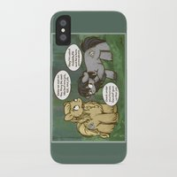 mlp iPhone & iPod Cases featuring Fili and Kili ponies MLP The Hobbit Crossover Parody by BlacksSideshow