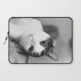 Upside down cat Laptop Sleeve