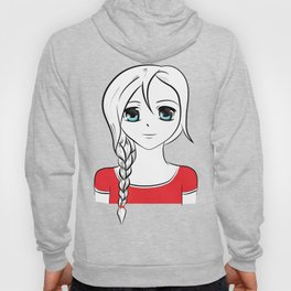 LaBelles Anime Face Hoody