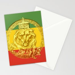 Conquering Lion of Judah Reggae Master Stationery Cards