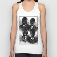 bdsm Tank Tops featuring BDSM  by DIVIDUS