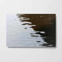 Dark and Clear Water Metal Print
