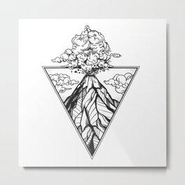 Nature Vulcan Metal Print