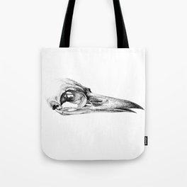Crow Skull Tote Bag