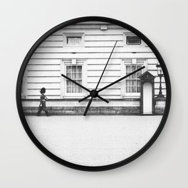 CHANGING OF THE GUARD Wall Clock