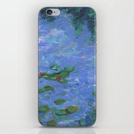 No Monet, No Problems iPhone Skin