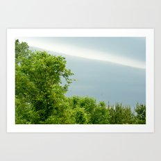 look beyond the horizon Art Print