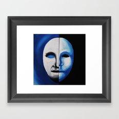 The Moon Man Framed Art Print