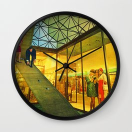 Diversions of the Detached Wall Clock