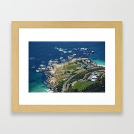 southafrica ... mountain with a view Framed Art Print