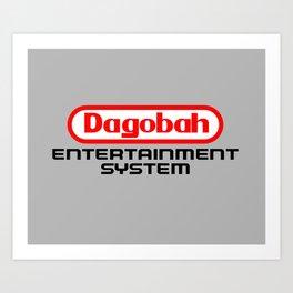 Dagobah Entertainment System Art Print