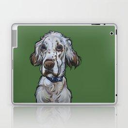 Ollie the English Setter Laptop & iPad Skin