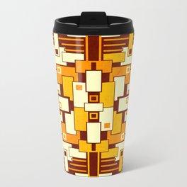 C13D GeoAbstract Metal Travel Mug