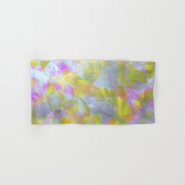 Abstract in Shimmery Pastel Colors Hand & Bath Towel
