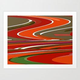 MELTED JOY Art Print
