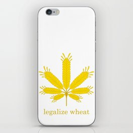 Legalize Wheat iPhone Skin