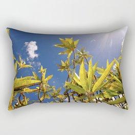 Crotons Rectangular Pillow