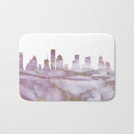 Houston Skyline Texas Bath Mat