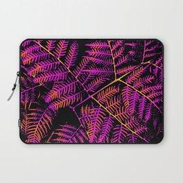 Purple, Orange & Yellow Bracken Laptop Sleeve