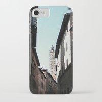 italian iPhone & iPod Cases featuring Italian Roofs by WaterAngel42