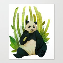Giant Panda Bear Canvas Print