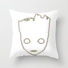 Baby ɢʀᴏᴏᴛ 3D style Throw Pillow