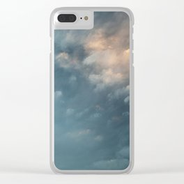 Silver Lining Clear iPhone Case