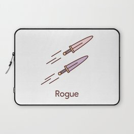 Cute Dungeons and Dragons Rogue class Laptop Sleeve