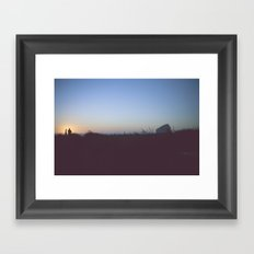 Pacific City, Oregon Framed Art Print