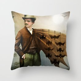 The Salesman Throw Pillow