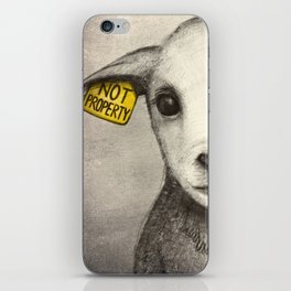 Not Property iPhone Skin