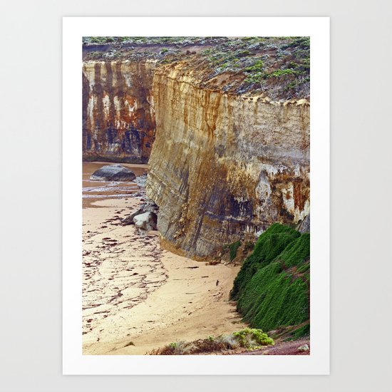 Cliff Hanger Art Print