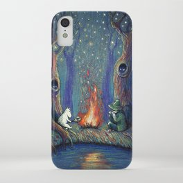 Moomin's night iPhone Case
