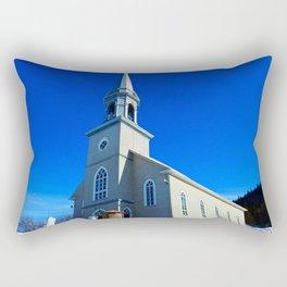Coastal Curch in Tourelle Rectangular Pillow