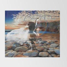 Stevie Nicks - Blue Water Throw Blanket