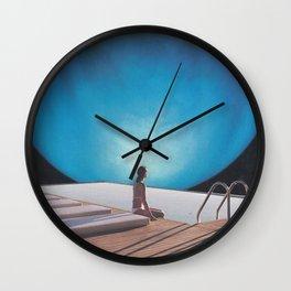 Poolside Wall Clock