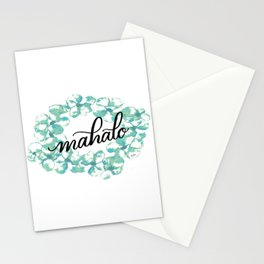 Thank you Mahalo from Hawaii Stationery Cards