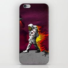 houston we have a problem iPhone Skin