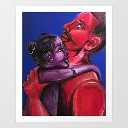 Father's Embrace Art Print