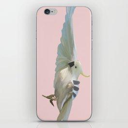 Cockatoo on Pink iPhone Skin