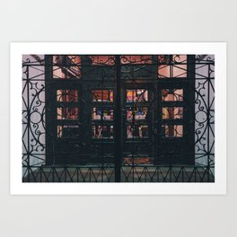 Gate to Cave of Wonders. Art Print